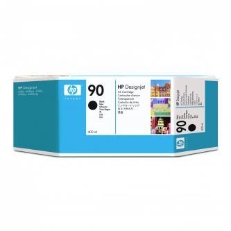 Inkoustová cartridge HP DesignJet 4000, 4000ps, 4500, C5058A, black, No.90, 400ml, O