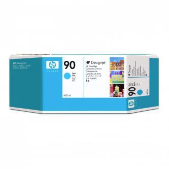 Inkoustová cartridge HP DesignJet 4000, 4000ps, 4500, C5061A, cyan, No.90, 400ml, O