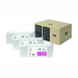 Inkoustová cartridge HP DesignJet 5000, PS, 5500, PS, C5074A, magenta, No.83, 3*680 ml, 3 ks, O