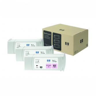 Inkoustová cartridge HP DesignJet 5000, PS, 5500, PS, C5077A, light magenta, No.83, 3*680 ml, 3 ks, O