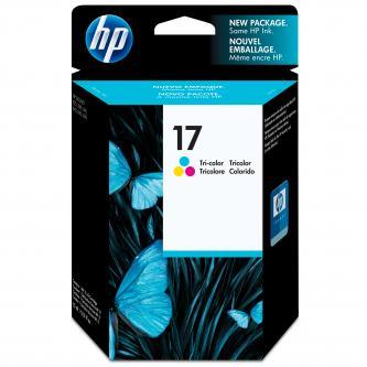 Inkoustová cartridge HP DeskJet 840, 843c, 845c, C6625AE, color, No.17, 15ml, 430s, O