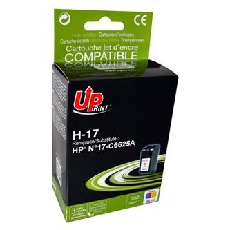 Inkoustová cartridge pro HP DeskJet 840, 843c, 845c, color, H-17CL, 40ml, UP, kompatibilní s C6625A