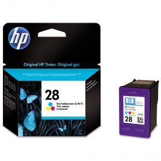 Inkoustová cartridge HP DeskJet 3420, 3325, 3550, 3650, OJ-4110, PSC-1110, C8728AE#301, color, No.28, 8ml, blistr, O