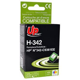 Inkoustová cartridge pro HP Photosmart 2575, C3180, C4180, DJ-5440, OJ-6310, color, H-342CL, 15ml, UP, kompatibilní s C9361E