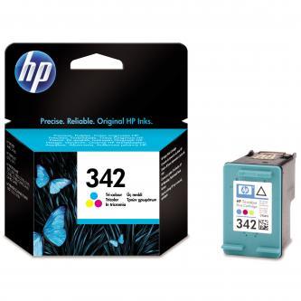 Inkoustová cartridge HP Photosmart 2575, C3180, C4180, DJ-5440, OJ-6310, C9361EE#301, color, No.342, 5ml, 175s, blistr, O