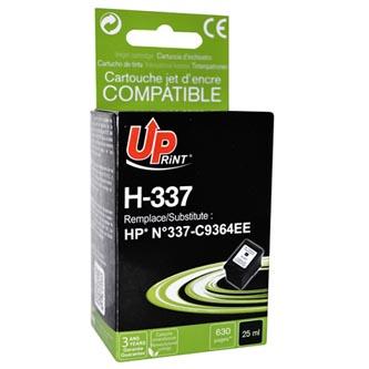 Inkoustová cartridge pro HP Photosmart D5160, C4180, 8750, OJ-6310, DJ-5940, black, H-337B, 25ml, UP, kompatibilní s C9364E