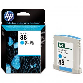 Inkoustová cartridge HP OfficeJet Pro K5400, L7580, L7680, L7780, C9386AE, cyan, No.88, 9ml, 620s, O