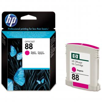Inkoustová cartridge HP OfficeJet Pro K5400, L7580, L7680, L7780, C9387AE, magenta, No.88, 10ml, 620s, O