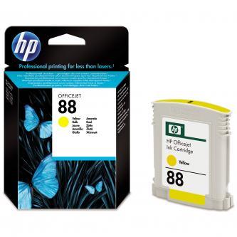 Inkoustová cartridge HP OfficeJet Pro K5400, L7580, L7680, L7780, C9388AE, yellow, No.88, 9ml, 860s, O