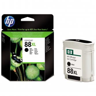 HP originální ink blistr, C9396AE#301, No.88XL, black, 2350str., 58,9ml, HP OfficeJet Pro K5400, L7580, L7680, L7780