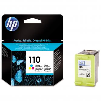 Inkoustová cartridge HP Photosmart A310/316/432/436/440/516/532/612/618, CB304AE, color, No.110, 5ml, 55s, 10x15cm, O