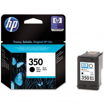 Inkoustová cartridge HP Officejet J5780, J5785, CB335EE, black, No.350, 4,5 ml, O