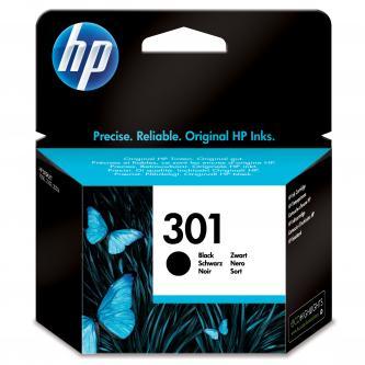 Inkoustová cartridge HP HP Deskjet 1000, 1050, 2050, 3000, 3050, CH561EE#301, black, No.301, 190s, blistr, O