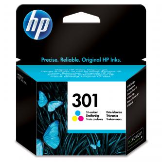 Inkoustová cartridge HP HP Deskjet 1000, 1050, 2050, 3000, 3050, CH562EE#301, color, No.301, 165s, blistr, O