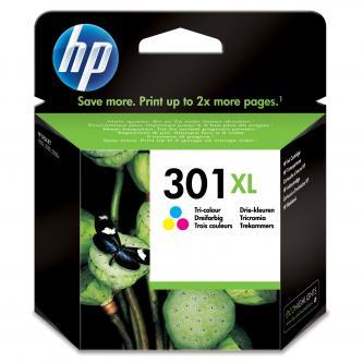 Inkoustová cartridge HP HP Deskjet 1000, 1050, 2050, 3000, 3050, CH564EE#301, color, No.301XL, 330s, blistr, O