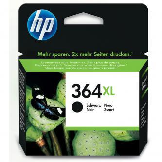 Inkoustová cartridge HP Photosmart e-All-in-One, Premium, Plus, C5380, CN684EE#301, černá, No.364XL, 18ml, 550s, blistr, O