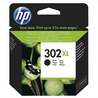 HP originální ink sada F6U68AE, HP 302XL, black, blistr, 480str., 8,5ml, HP