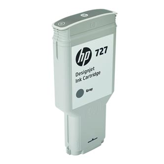 HP originální ink F9J80A, HP 727, gray, 300ml, HP DesignJet T1530, T2530, T930