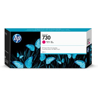 HP originální ink P2V69A, HP 730, magenta, 300ml, HP HP DesignJet T1700 44 printer series, T1700dr 44