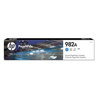 HP originální ink T0B23A, HP 982A, cyan, 8000str., HP PageWide Enterprise Color 765, 780, 785