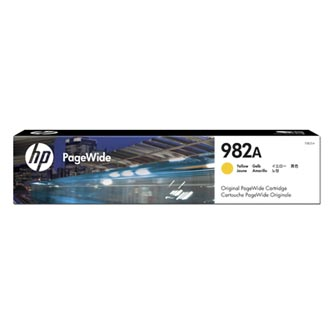 HP originální ink T0B25A, HP 982A, yellow, 8000str., HP PageWide Enterprise Color 765, 780, 785
