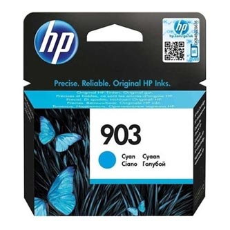 HP originální ink T6L87AE#301, HP 903, cyan, blistr, 315str., 4ml, HP Officejet 6954,6962Officejet Pro 6974,6975