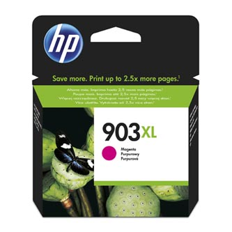 HP originální ink blistr, T6M07AE#301, No.903XL, magenta, 825str., 9.5ml, high capacity, HP Officejet 6962,Pro 6960,6961,6963,6964