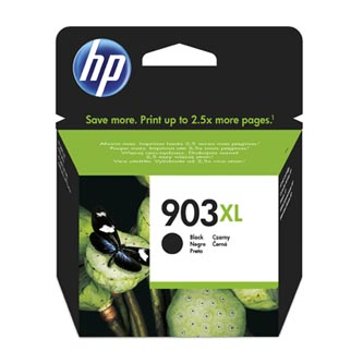 HP originální ink blistr, T6M15AE#301, No.903XL, black, 825str., 21.5ml, high capacity, HP Officejet 6962,Pro 6960,6961,6963,6964,