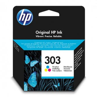 HP originální ink T6N01AE, HP 303, color, 200str., HP ENVY Photo 6230, 7130, 7134, 7830