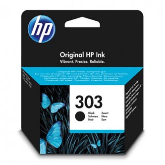 HP originální ink T6N02AE, HP 303, black, 165str., HP ENVY Photo 6230, 7130, 7134, 7830