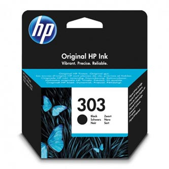 HP originální ink T6N02AE, HP 303, black, blistr, 165str., HP ENVY Photo 6230, 7130, 7134, 7830