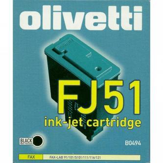 Inkoustová cartridge Olivetti Fax-Lab 101, 128, FJ51, B0494, black, O