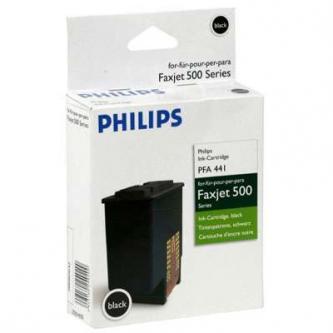 Inkoustová cartridge Philips Faxjet 520/525/555, PFA 441, black, 253014355, 440s, O