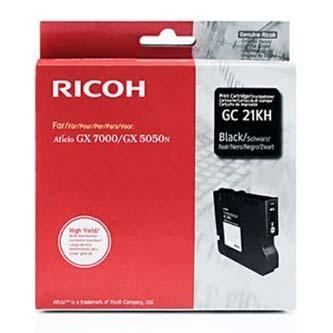 Gelová náplň Ricoh GX3000, 3050N, 5050N, 405536, black, typ GC-21HK, 3000s, O