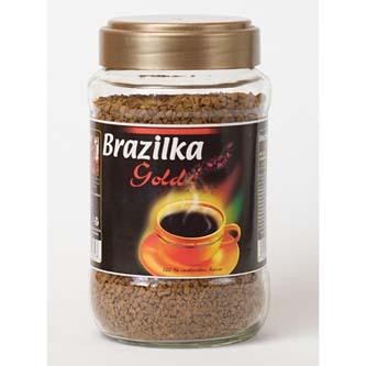 Káva instantní, Brazilka Gold, 200g, sklo, Samantha