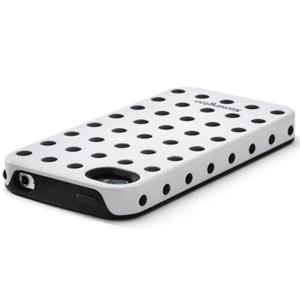 Obal pro iPhone 4® a 4S® Kensington, bíločerný