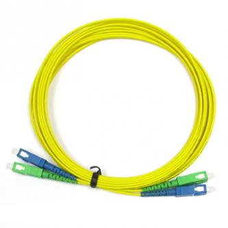 Optický Patch Cord Single mod 09/125, SC-APC/SC, 2 m