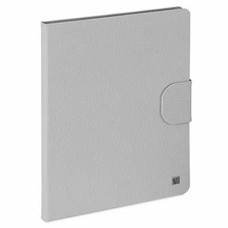 Verbatim, Obal iPad 2,3 a 4, s podstavcem, stěrkově šedý, Polyester/polyuretan