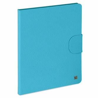 Verbatim, Obal iPad 2,3 a 4, s podstavcem, vodní modrý, Polyester/polyuretan