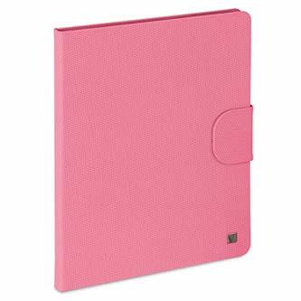 Verbatim, Obal iPad 2,3 a 4, s podstavcem, křiklavě růžový, Polyester/polyuretan