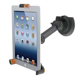 Image of Držák tabletu, nastavitelný, černý, All New, pro všechny iPad série a většinu tabletů