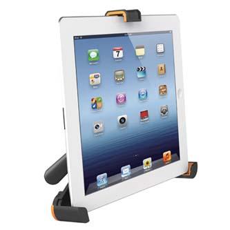 Image of Stojan pro tablet, skládací, černý, All New, pro všechny iPad série a většinu tabletů