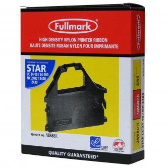Páska do tiskárny pro Star LC 15, 24-10, NX 1500, 2400, 2440, ZA 200, 250, černá, F