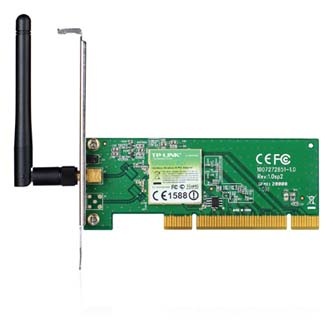 TP-LINK TL-WN751ND, PCI karta, Wireless