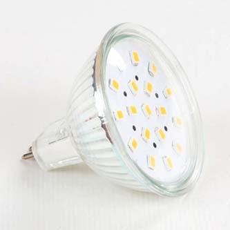 LED žárovka Inoxled MR16, 12V, 2.5W, 250lm, teplá bílá, 60000h, ECO, 18SMD, 2835