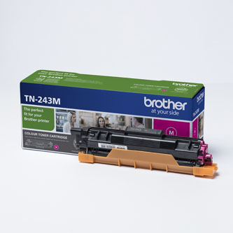 Brother originální toner TN243M, magenta, 1000str., Brother DCP-L3500, MFC-L3730, MFC-L3740, MFC-L3750