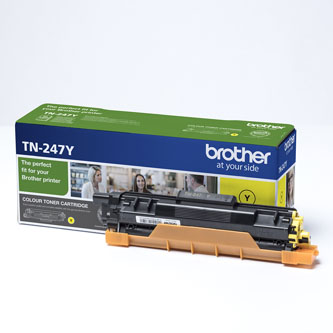 Brother originální toner TN247Y, yellow, 2300str., Brother DCP-L3510CDW, DCP-L3550CDW, HL-L3210CW,HL-L3270CDW