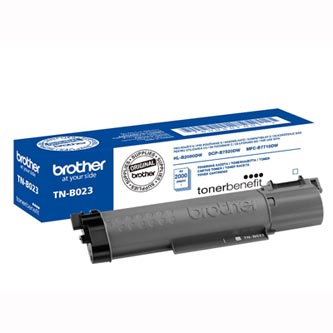 Brother originální toner TNB023, black, 2000str., Brother DCP-B7520DW, HL-B2080DW, MFC-B7715DW