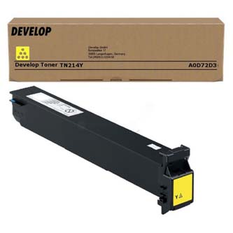 Toner Develop Ineo +200, yellow, A0D72D3, 18500s, TN-214Y, O