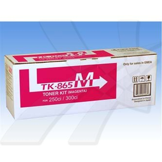 Toner Kyocera Mita 250Ci/300Ci/400Ci/500Ci, magenta, TK865M, O